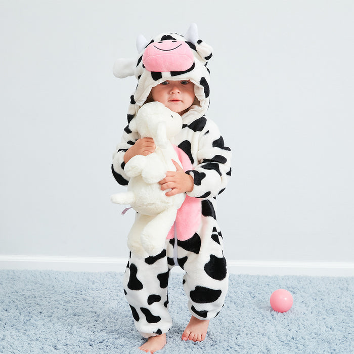 Funny Cow Animal Baby Onesie
