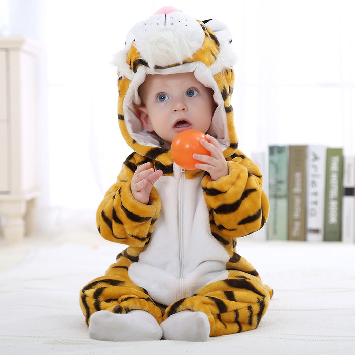 Funny Tiger Animal Toddler Onesie