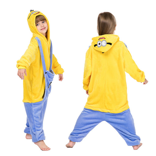 Funny Yellow Man boys and girls Kids Onesie