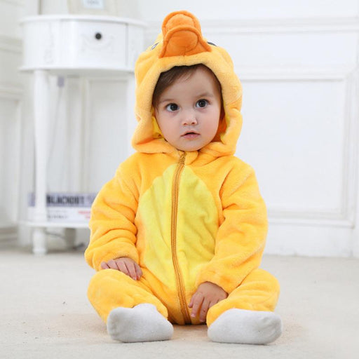 Baby Boy's Duck Onesie