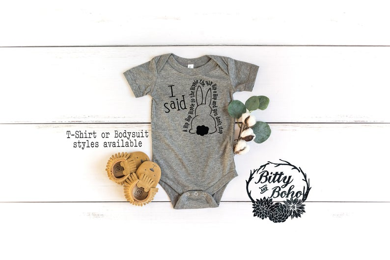 Funny Easter Baby Bodysuit