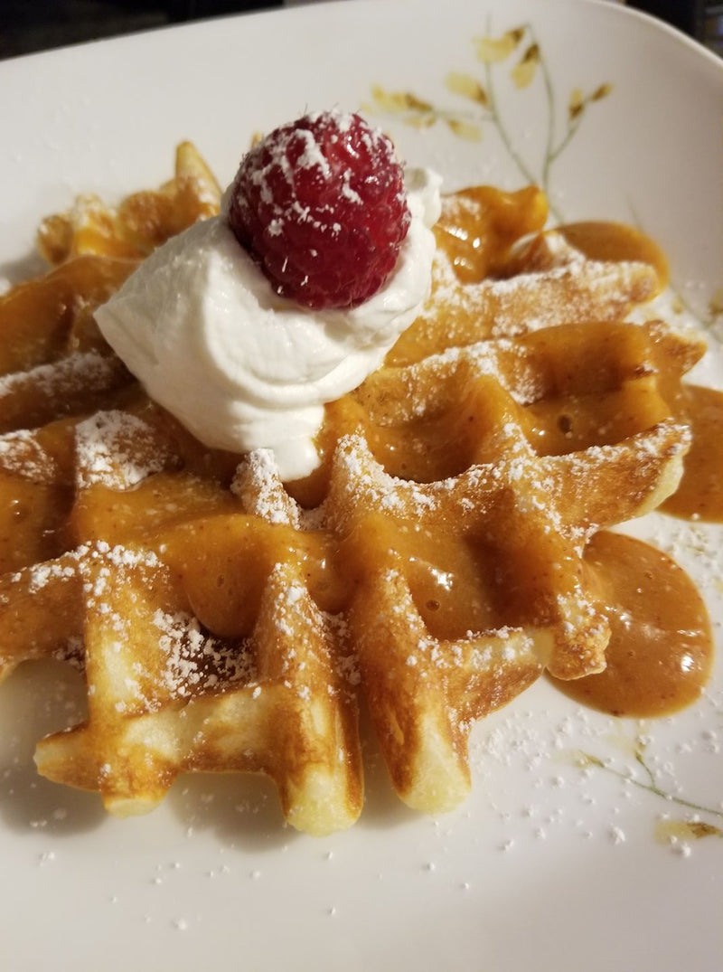 The Most Amazing and Crispy Waffles Ever!