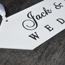 Load image into Gallery viewer, Wedding Board Sign Personalised