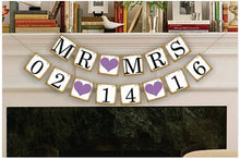 Load image into Gallery viewer, Personalised Date Bunting Banner