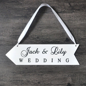 Wedding Board Sign Personalised