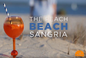 The Beach Glass Peach Sangria