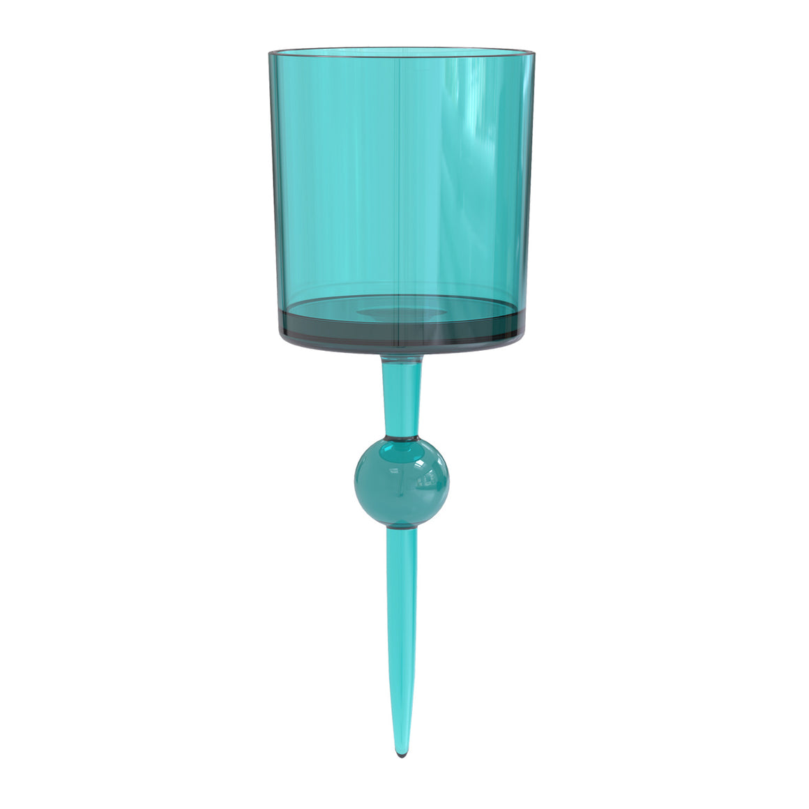 Jasmine Coast Caribbean - the beach glass floating wine glass