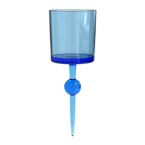Cerulean Seas Caribbean - the beach glass floating wine glass