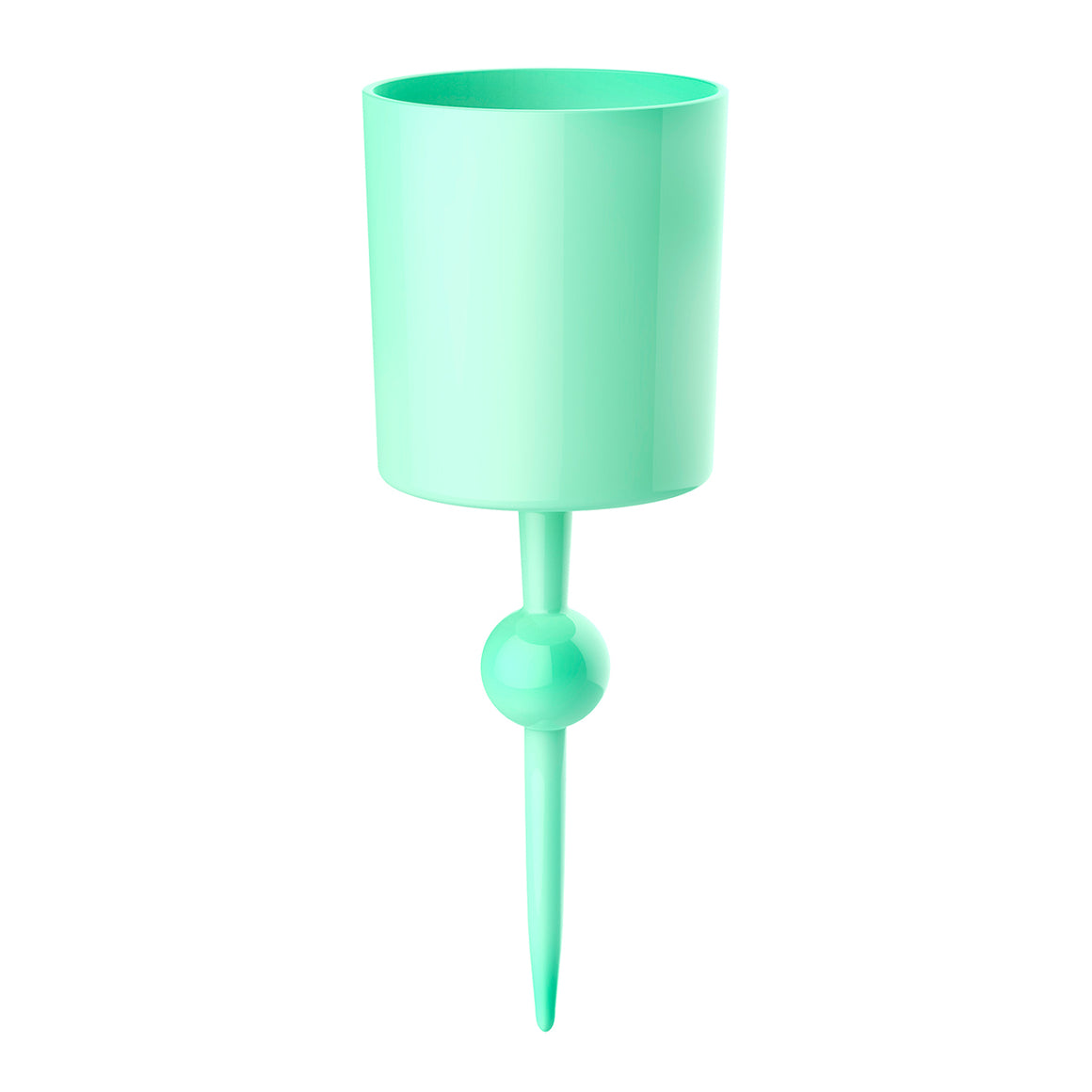 Mint Mojito Caribbean - the beach glass floating wine glass