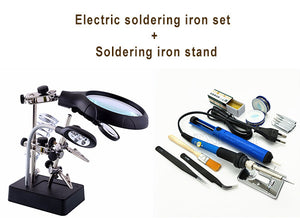 Best Clearance Sale Of The Year--LED Light Soldering Iron Stand
