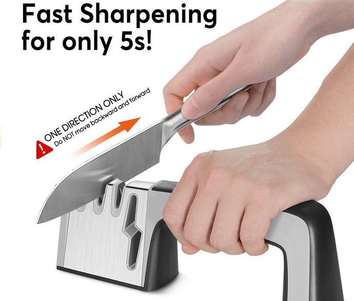 4 Stage Professional Kitchen Sharpening Stone