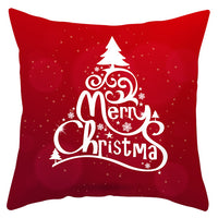 2019 New Merry Christmas Santa Claus Cushion Cover Christmas  Car Home Sofa Decorative Pillowcase Plush Throw Pillow Case Cover