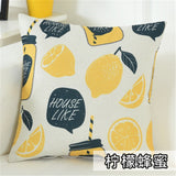 Cojines Sofa waist Cushion Cover Pillow 30x50/40x40/45x45/40x60/50x50/55x55/60x60cm Cheaper Decorative Throw Pillowcase for Home