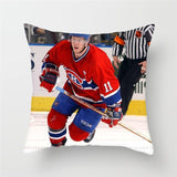 Fuwatacchi Ice Hockey Sport Cushion Cover NHL Sports Pillow Cover 45x45cm For Home Sofa Bed Car Decorative Throw Pillows 2019