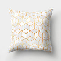 Decorative Cushions Cover Pillow Case Geometric Printed Polyester Throw Pillow Decor for Home Decoration Sofa Pillowcase 40507