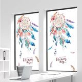 1Pcs 3D Dream Catcher Wall Sticker Creative Living Room Decoration Wall Paper US