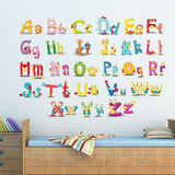 1pc Wall Sticker Letters Decor Decal Wallpaper for Kids Room Bedroom Living Room