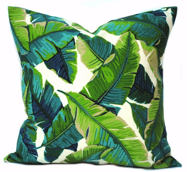 1 Palm pillow covers, outdoor pillow, decorative throw pillow, Palm tree pillow