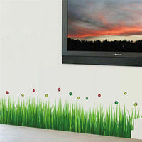 Green Grass DIY Removable Art 768 Vinyl Wall Stickers Decor Living Room Art