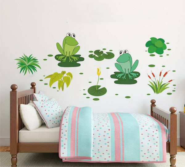 Frog Story Wall Sticker Home Decor Removable Art Vinyl Decal Mural Living Room