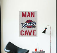Cleveland Cavaliers Wall Decal NBA Sport Logo Vinyl Design Man Cave Decor CG1446