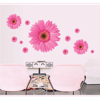 Removable Wall Sticker Daisy Flowers Mural Living Room DIY Decor STOCK