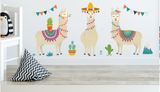 Creative Cartoon Camel Wall Stickers Living Room Children Room Background Décor