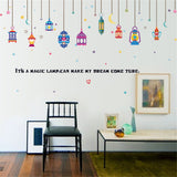 Arab Color Lights Room Home Decor Removable Wall Stickers Decals Decorations