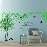 Couple Tree 3D Acrylic Wall Stickers Home Living Room TV Backdrop Decorations