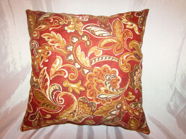 "1 DECORATIVE THROW PILLOW CUSHION COVER 17"" INDOOR OUTDOOR"