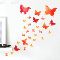 Butterfly Home Decoration Wall Sticker Living Room Bedroom Decor Wall Decal