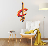 Cavaliers Logo Wall Decal NBA Sports Cleveland Sticker Decor Color Vinyl CG842