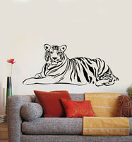 Vinyl Wall Decal Tiger Predator Animal Living Room Home Decor Stickers (g659)