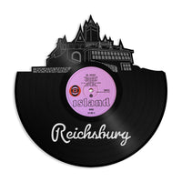 Reichsburg Castle Vinyl Wall Art Cityscape Souvenir Anniversary Home Room Decor