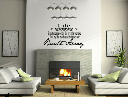 Living Room Bedroom Love Quotes Home Decal Vinyl Wall Mural Decor Sticker