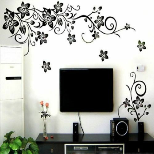 Removable Butterfly Flower DIY Vinyl Decal Art Mural Home Decor Wall Stickers_sh