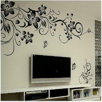Wall Stickers DIY Vinyl Vine Mural Decal Living Room Decor TV Wall Decor|20%OFF