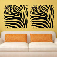Wall Decal Sticker Vinyl Zebra Colors Band Picture Anyone room decor M698