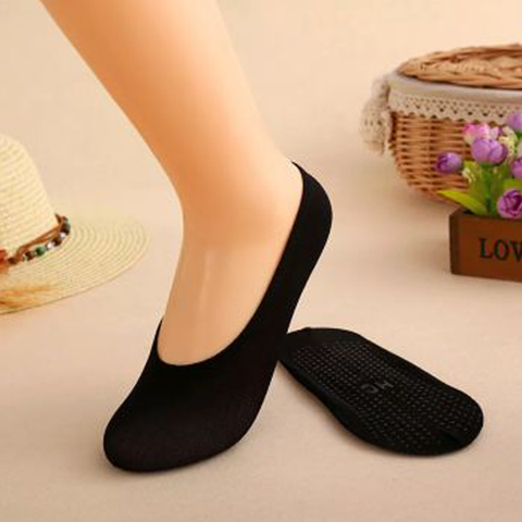 Anti-slip Silicone No Show Socks (3PCS)
