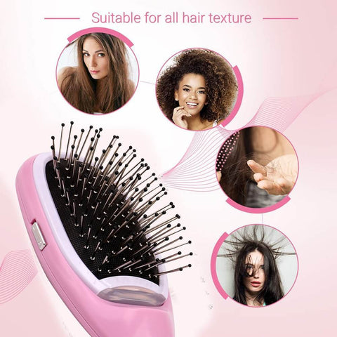 Anti-Frizz Ionic Hair Brush & Scalp Massager