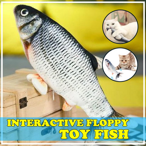 Image of Buy1 Take1 Promo - Interactive Floppy Toy Fish