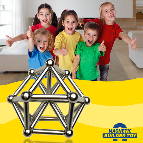 Image of Magnetic Builder Toy