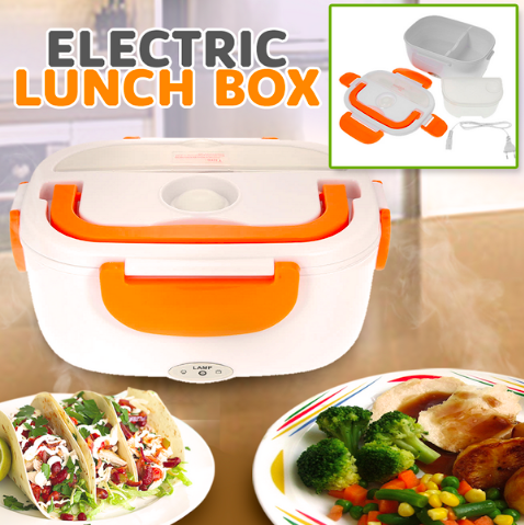 Image of Electric Self Heating Lunch Box