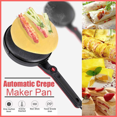 Automatic Crepe Maker Pan