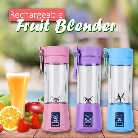 Image of Portable Rechargeable Fruit Blender