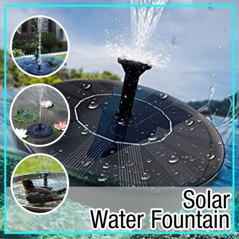 Image of Solar Water Fountain