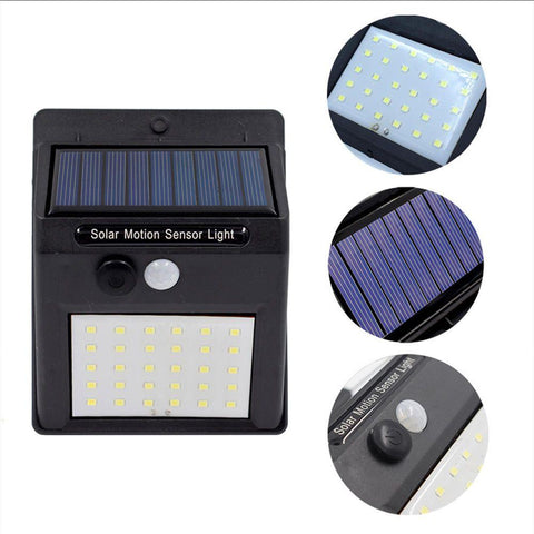 Automatic Solar Motion Sensor Light