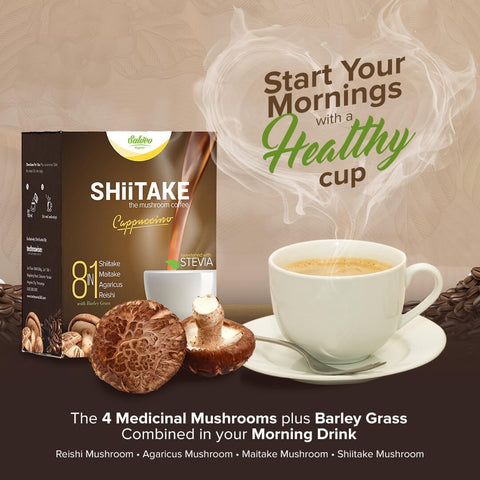 3-Box of Shiitake 8in1 Mushroom Coffee (10sachet/box)