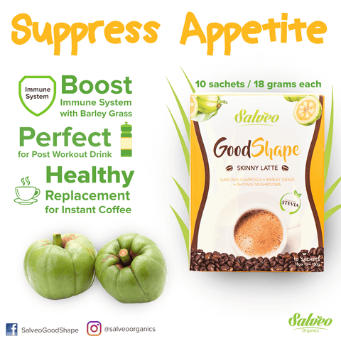 2-Box of GoodShape Skinny Latte Coffee - 8in1 Weight Loss & Healthy Coffee (10sachet/box)