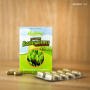 "Salveo Barley Grass - ""The Miracle Food"""
